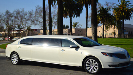 Corporate Transportation White Lincoln