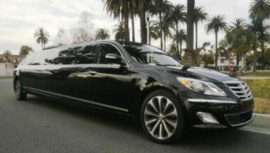 Black-Hyundai-Genesis LIMO SERVICE LOS ANGELES, Limousine Service LA, Limo Rental Los Angeles