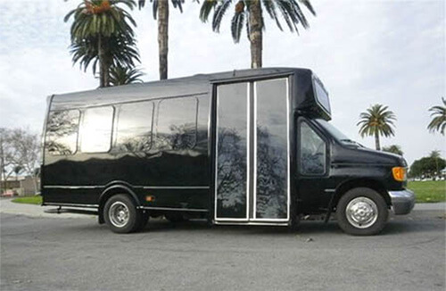 20-passenger-party-bus-black Party Buses for Rent Los Angeles | LA Party Bus Rental
