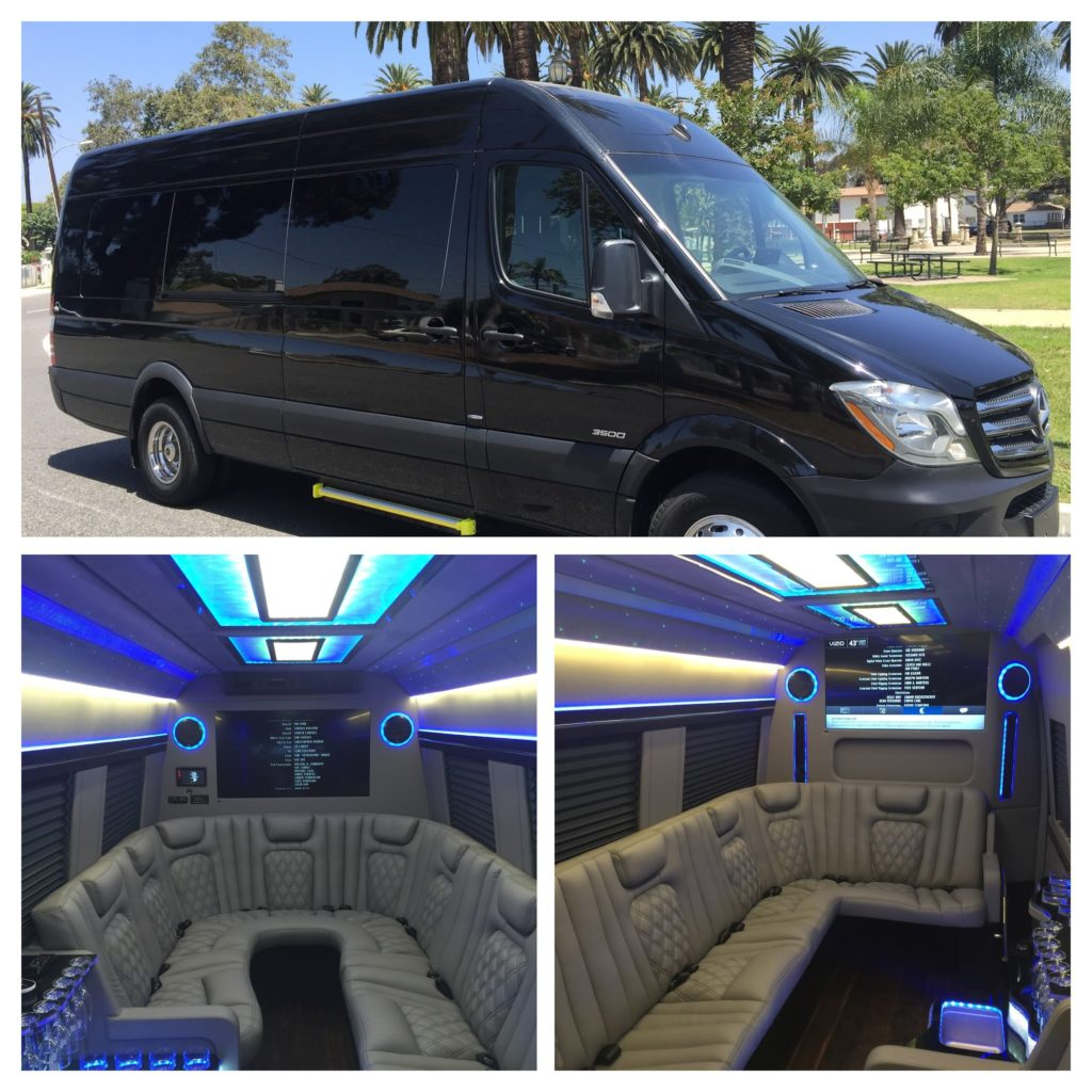 Party Buses Rentals Los Angeles